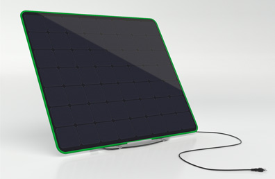 Solaris POP, a mini photovoltaic panel energy production unit suitable for residential area